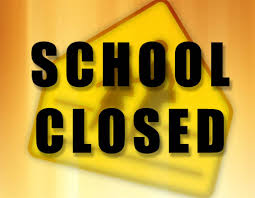 School Closed on Friday, August 8