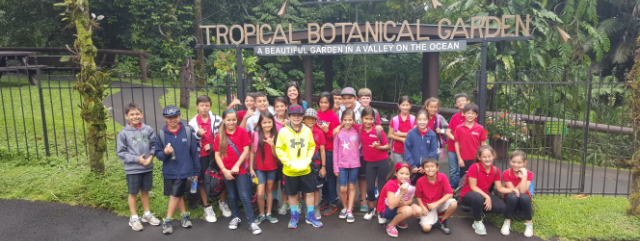 Grade 4 Visits the Big Island
