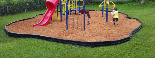 Playground gets New Wood Chips
